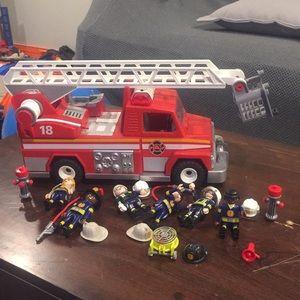 Fire Truck Playmobile set